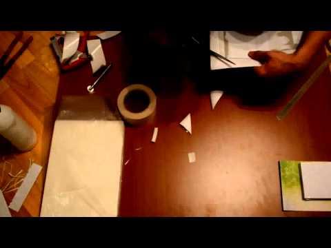 Видеозапись Изготовление книги и блокнотов в домашних условиях