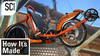 How It's Made: 3-Wheel Electric Bikes