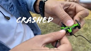 I crashed the World's smallest drone..😞