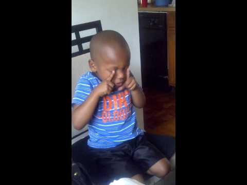 3 Year Old Singing Shawn Michaels Theme Song (Sexy Boy)