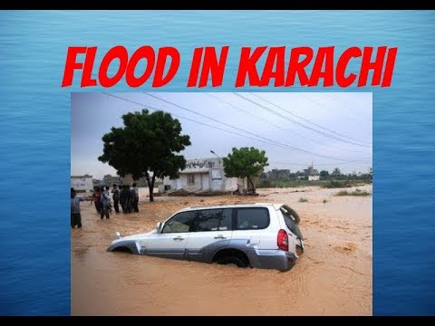 Flood In Karachi 2017