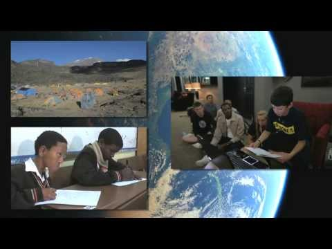"""""""GLOBE Goes Global: International Webcasts Connect Students Around The World"""" (09:20)"""