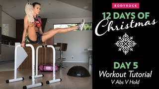 Bodyrock - Move Of The Day - V Abs & V Hold