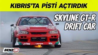 Kıbrıs drift   VLOG   Skyline GT-R R34