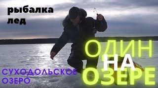 Один на озере Озеро Суходольское Ленинградская область Alone on the lake Lake Sukhodolskoe
