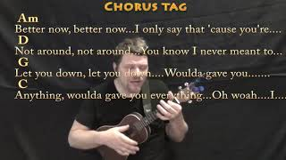 Better Now (Post Malone) Ukulele Cover Lesson in G with Chords/Lyrics