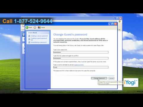 How To Create A User Account In Microsoft® Windows® XP Professional?