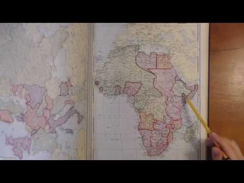 Looking through a 1936 World Atlas - Special focus: New Zealand