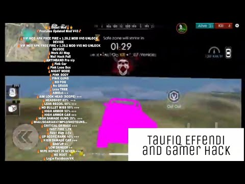 UPDATE MOD  FF By TAUFIQ EFFENDI // V.1.39.2 // Wallhack// #2