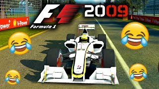 PLAYING F1 2009 CAREER MODE (F1 2009 Wii Game)