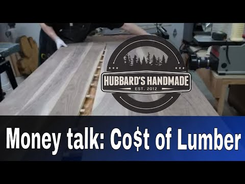 Rough discount lumber vs S4S wood. Real costs! $$$