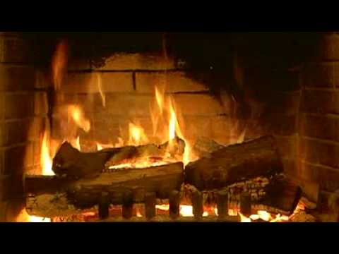 Fireplace dvd real wood burning fire short preview - Put out fire in fireplace ...