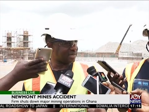 Newmont Mines Accident - Business Live on JoyNews (9-4-18)