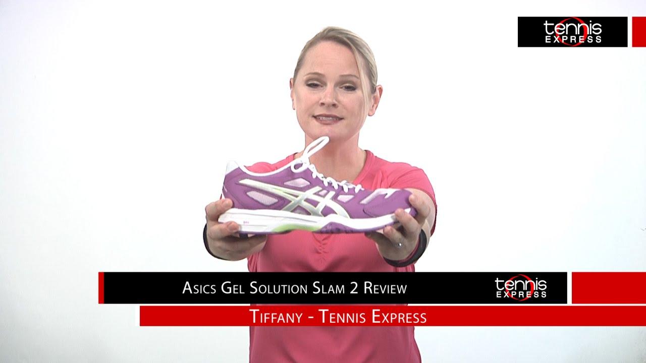 ASICS Women's Gel Solution Slam 2 Shoe Review Tennis Express