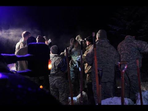 Oil Spill in Valdez prompt response during Exercise Arctic Eagle 2018