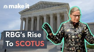 Ruth Bader Ginsburg's Path From Columbia Law To The Supreme Court