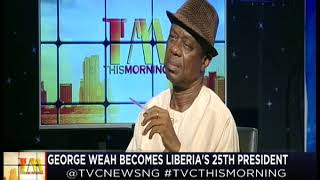 This Morning 29th December 2017 | George Weah Becomes Liberia's 25th President