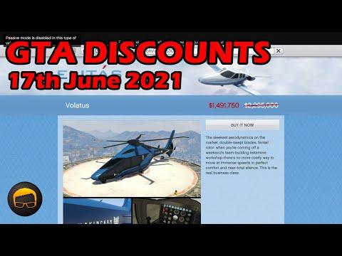 GTA Online Discounts, Bonuses & News (17th June 2021) – GTA 5 Weekly Update Guide №88