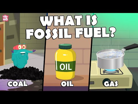 What Is Fossil Fuel? | FOSSIL FUELS | The Dr Binocs Show | K