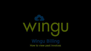 Wingu Billing Dashboard - View Past Invoices