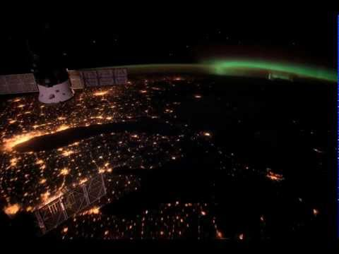 City Lights over Eastern United States