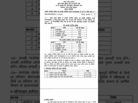 Uttar pradesh constable vacancy 2018(41520 post)