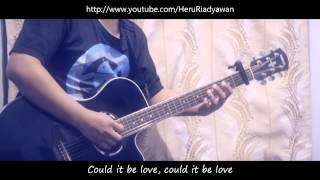 Raisa - Could It Be (Cover Gitar Amatir Riadyawan)