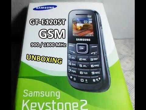 Unboxing Dan Sekilas Samsung Keystone 2 Gt E1205t Youtube