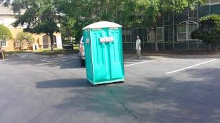 Port A Potty on the move