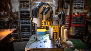 Adam Savage Builds a Mini Tabletop Bandsaw!