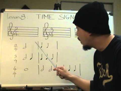 Nhạc lý căn bản bài 8 (Nhịp)