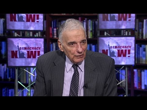 "Ralph Nader: Calling a Third-Party Candidate a ""Spoiler"" is a ""Politically Bigoted Word"""