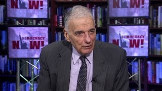 """Ralph Nader: Calling a Third-Party Candidate a """"Spoiler"""" is a """"Politically Bigoted Word"""""""