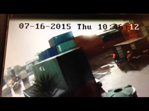 Kent Removals and Storage CCTV footage of moving and mishandling goods Sydney