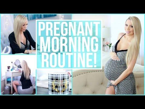 PREGNANT MORNING ROUTINE
