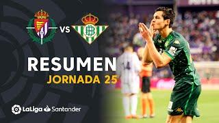 Resumen de Real Valladolid vs Real Betis (0-2)