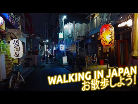 Walking in Japan - Enjoy japanese cities, gardens and parks with relaxing walks