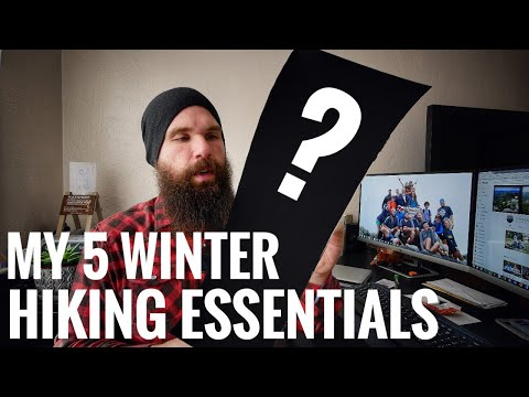 Five Things I Take On Every Winter Hike | My 5 Winter Hiking Essentials