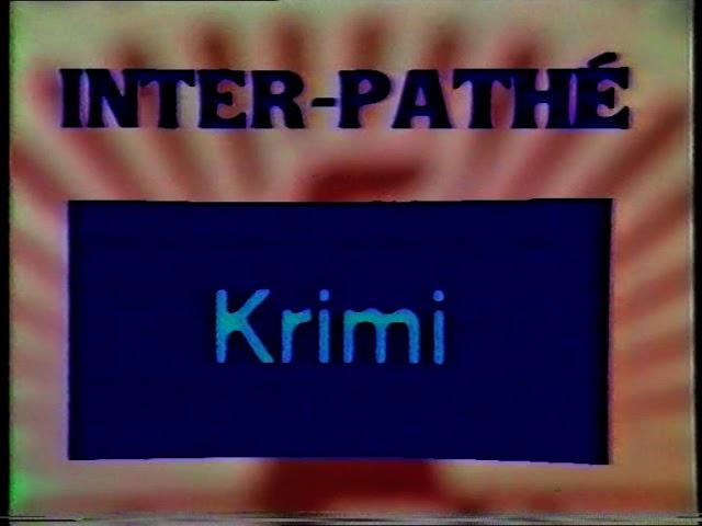 Inter Pathe - deutscher VHS Video Vorspann