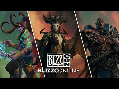 BlizzCon 2021 Day 2 Panels and Critical Role Diablo Campaign Livestream