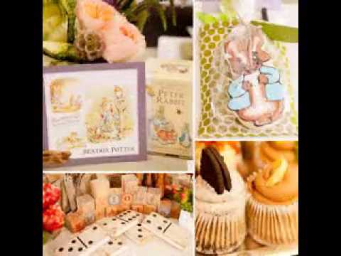 Celebrity baby shower decoration ideas - YouTube