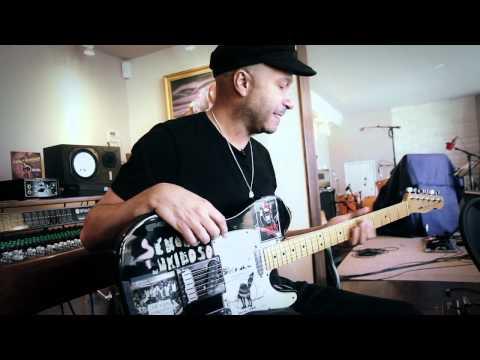 A Tour Of Tom Morello's Guitars & Home Studio
