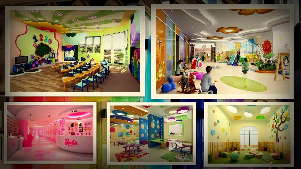 أحدث ديكورات جبس لغرف أطفال و شباب 2020 Gypsum Kids Room