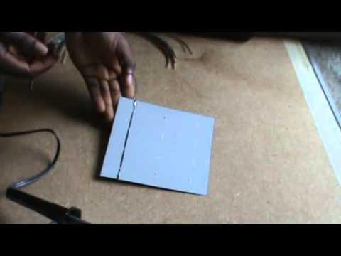 comment fabriquer un panneau solaire youtube. Black Bedroom Furniture Sets. Home Design Ideas