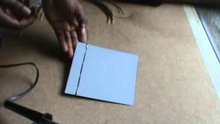 comment fabriquer un panneau solaire