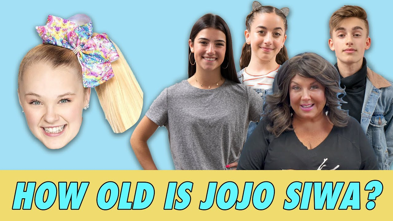 How Old is Jojo Siwa?