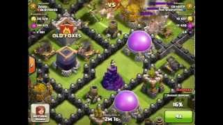 Clash of Clans - OLD FOXES - Hog Riders worst nightmare