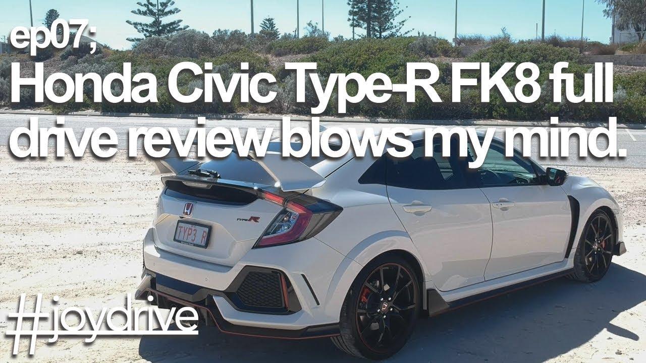 2017 Honda Civic Type R FK8 full drive review - YouTube