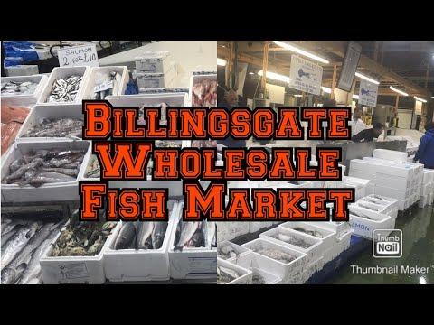 A Quick Tour Of London Fishmarket, Billingsgate