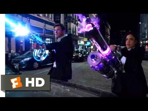 Men In Black: International (2019) - Alien Shootout Scene (3/10) | Movieclips